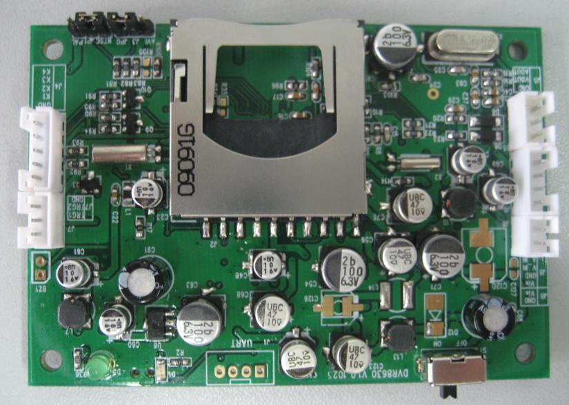 pcb-72a07门铃电路图