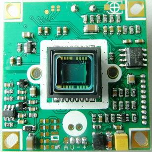 650线sonyccd (低照度,宽动态,osd)摄像头板机