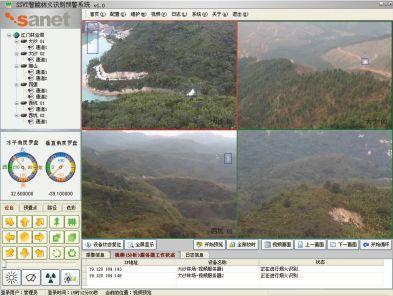 森林防火监控,智能林火识别预警系统