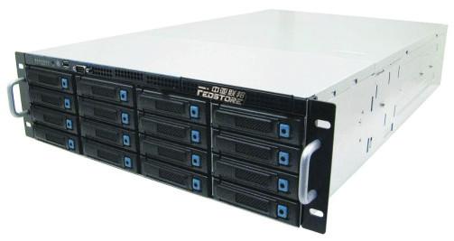 海量存储设备NVR+IPSAN