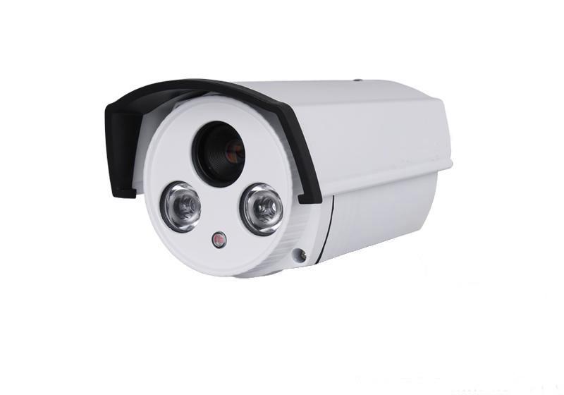 厂家直销 2014高性价比 60点阵双灯 高清监控摄像机