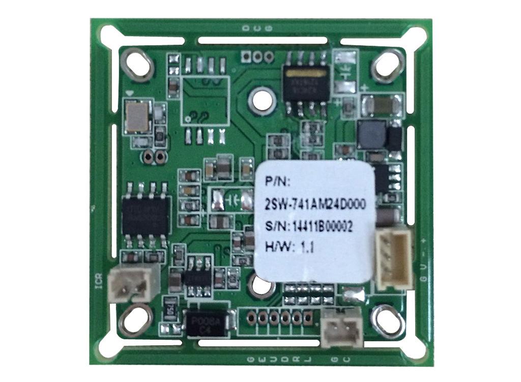 监控摄像机主板电路图