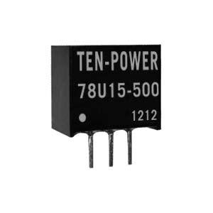 24V转15V开关型三端稳压模块LM78U15-500