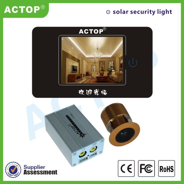 卓豪智能酒店猫眼控制系统 酒店门牌服务可电视显示画面