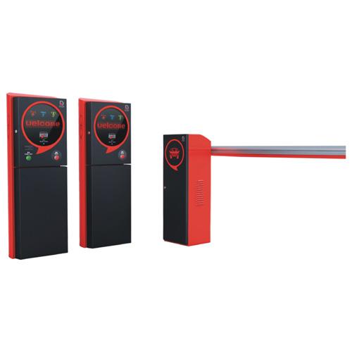 智能停车场系统循系列红色