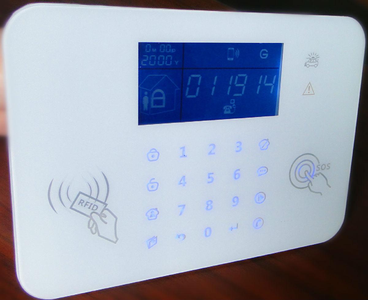 厂家直供99防区语音防盗报警器 无线智能商用防盗手机APP系统