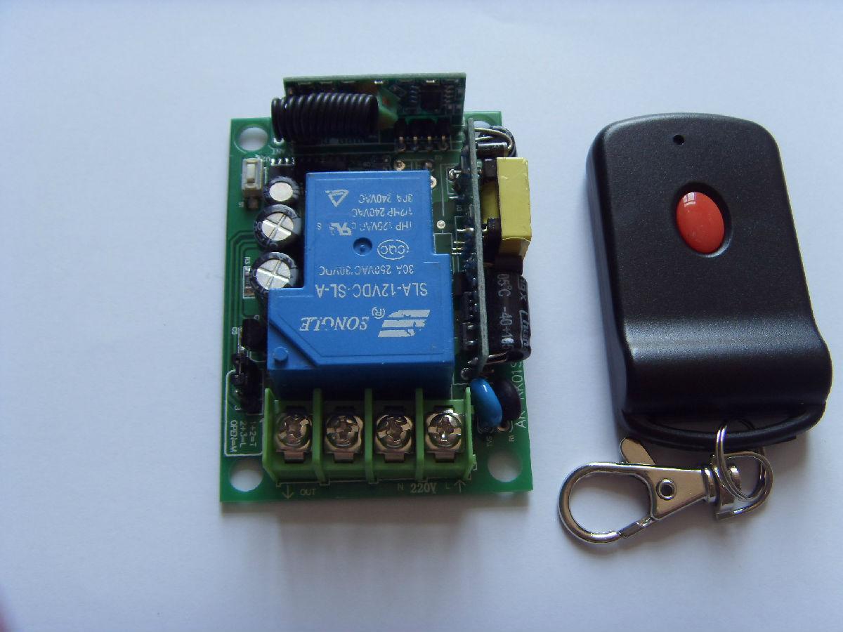 3000w控制器大功率遥控开关/电压80v-220v无线遥控水泵电灯具