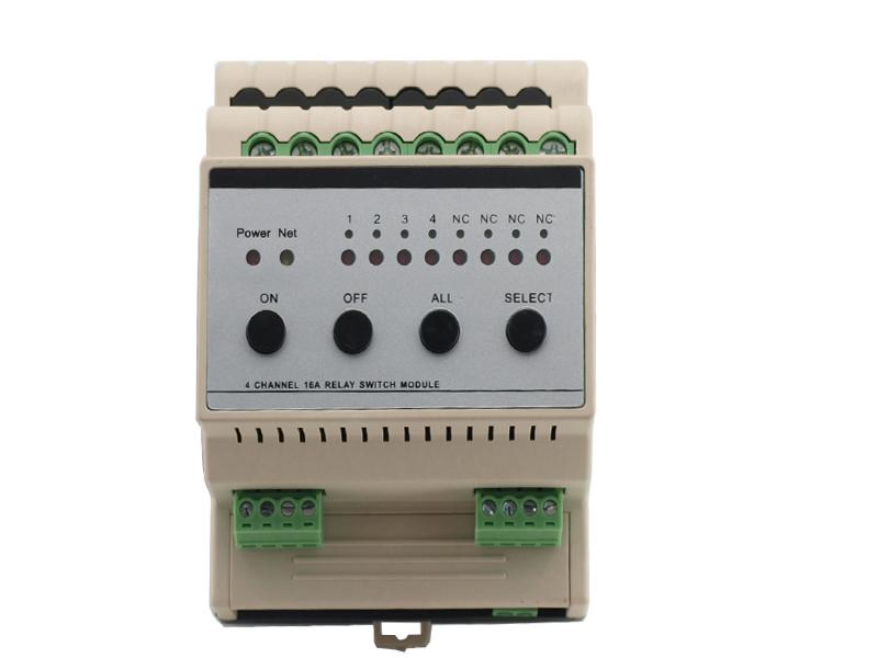 模块继电器开关器控制系统模块可接快思聪amx中控