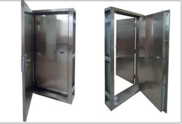 ATM机加钞间专用门