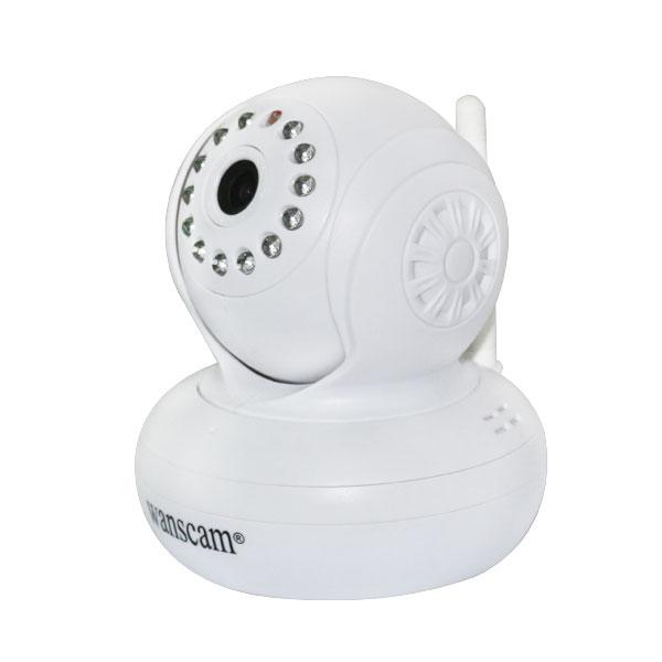 HW0021高清TF卡存储无线云台夜视网络摄像机