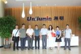 国家科技部、中国科技开发院等领导联袂考察洲明科技