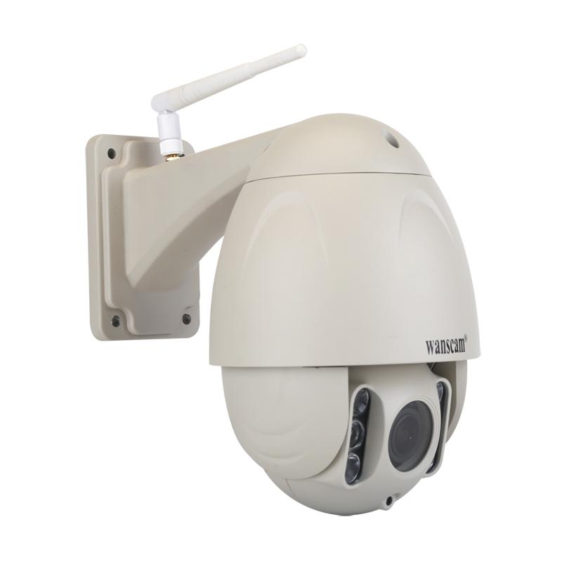 HW0045手机远程插卡5倍变焦200万夜视报警AP室外网络摄像头