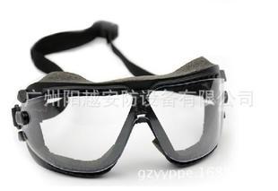 美国3M AOS 16618 防尘护目镜防护眼镜 风镜 防风沙 防雾 防烟