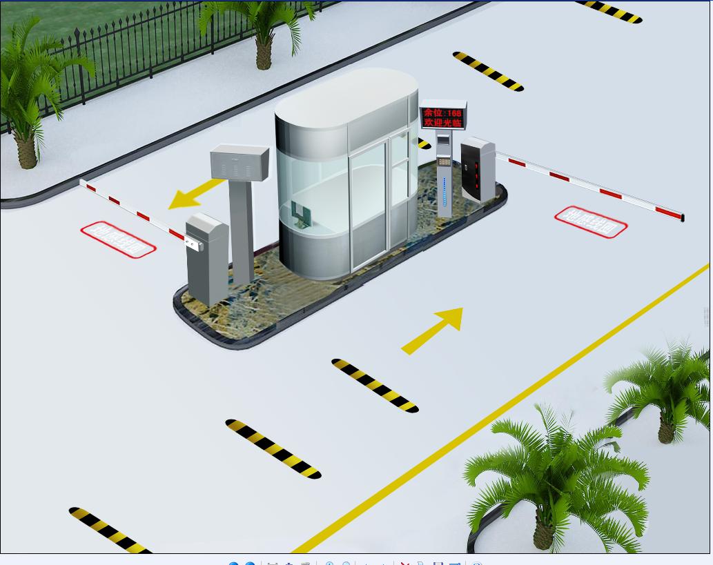 【停车场车牌识别系统