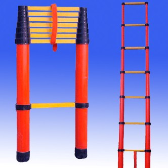 电信绝缘梯绝缘升降单梯伸缩绝缘梯