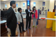 中国五金制品协会领导考察