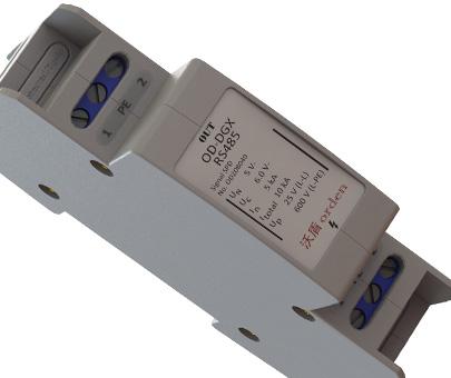 【485控制信号防雷器接线方式防雷消防通道防雷od-dg
