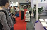 尚云在线巡逻机器人闪亮上海安博会