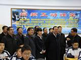 内蒙古自治区副主席白向群赴华平参观调研