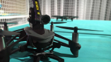 Parrot无人机安装发射BB枪
