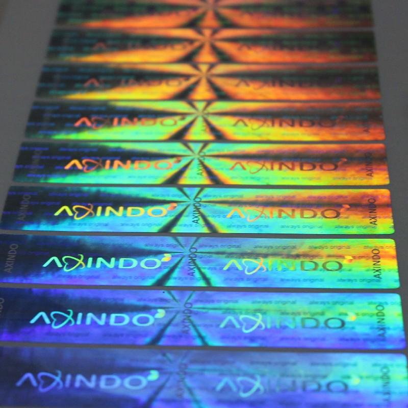 3D立体防伪标签 镭射防伪商标 激光防伪标签