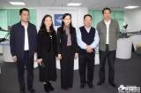 区委常委、统战部部长刘俊琳一行莅临深安协调研指导