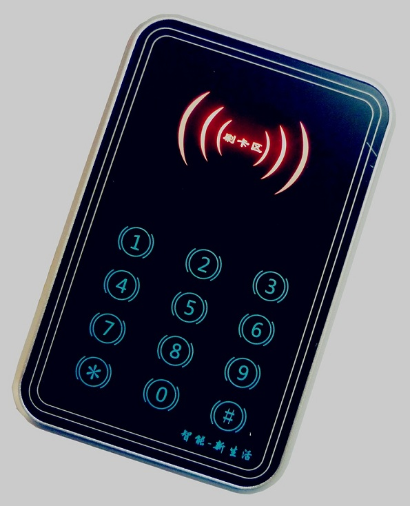 M4触摸密码门禁读卡器 (IC电梯读卡器)
