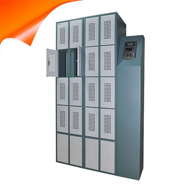 兰德华智能储物柜 对讲机柜智能管理系统