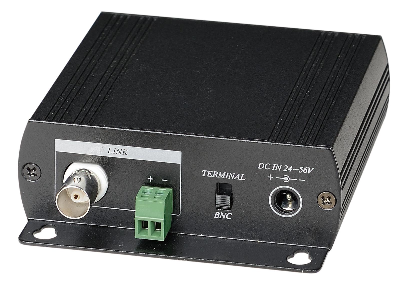 以太网供电同轴线/两芯线延长器