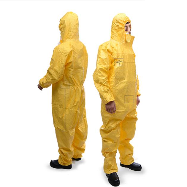 杜邦C级防护服 防化学防酸碱防化服 杜邦C级防化服