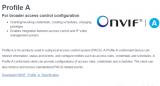 ONVIF发布Profile A
