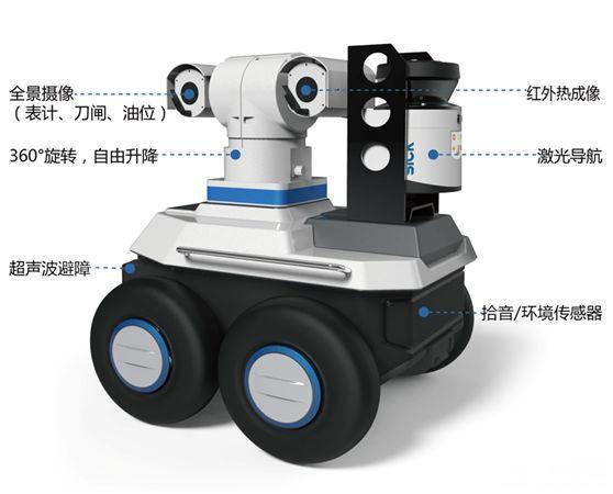 智能巡检机器人、巡逻机器人