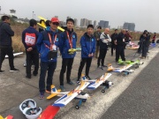 全国航空模型公开赛安徽站圆满成功