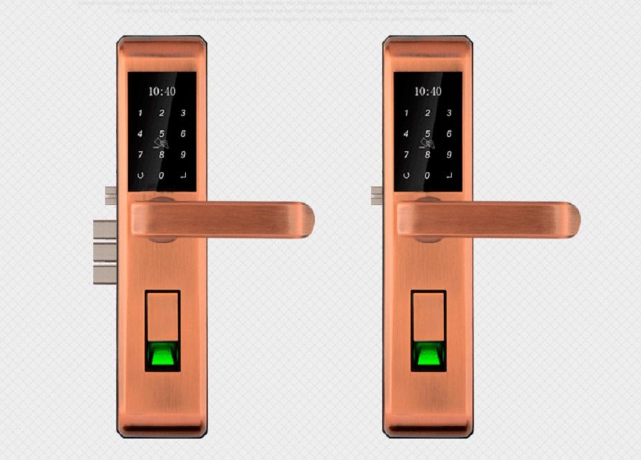 j101 手机蓝牙智能门锁 密码锁 感应锁 防盗门锁 指纹锁