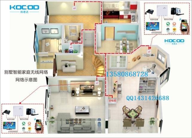家庭房子无线wifi覆盖信号全覆盖