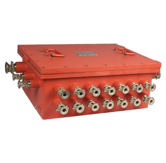 KJJ148矿用隔爆兼本安型网络交换机