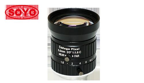 """5mm 1/1.7"""" 机器视觉FA镜头500万像素"""