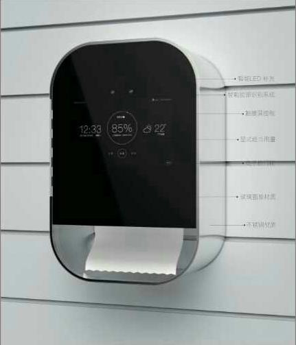 人脸识别厕纸机大盘硬纸