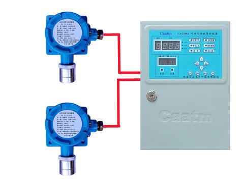 厂家热销甲醛浓度报警器 便携式甲醛检测仪 现场声光报警