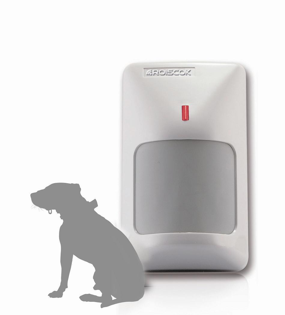 捷创信威双元红外防宠物移动探测器