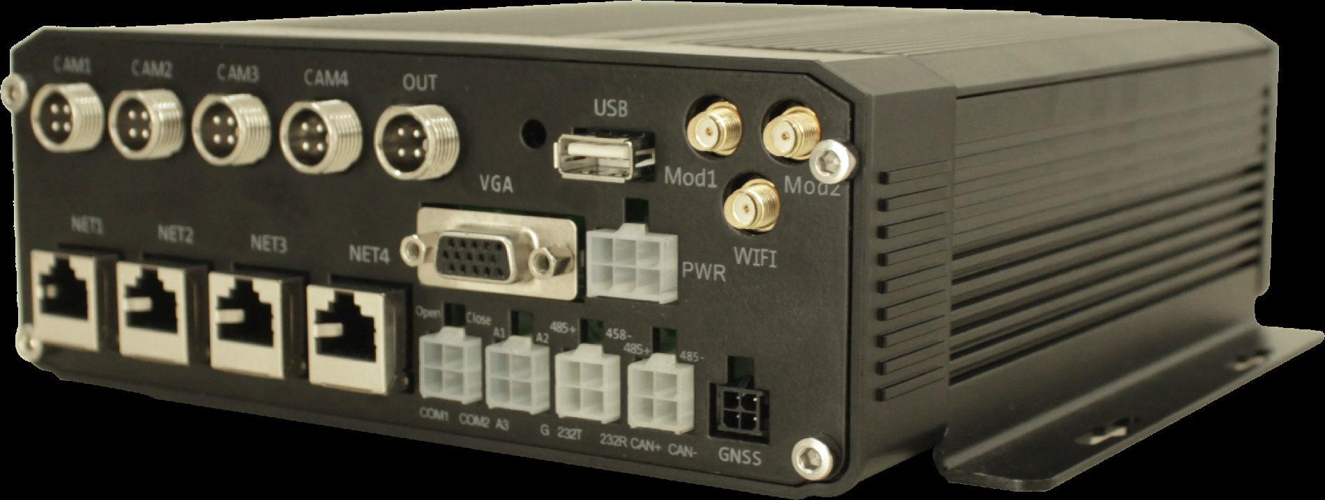 智能高清网络车载硬盘录像机