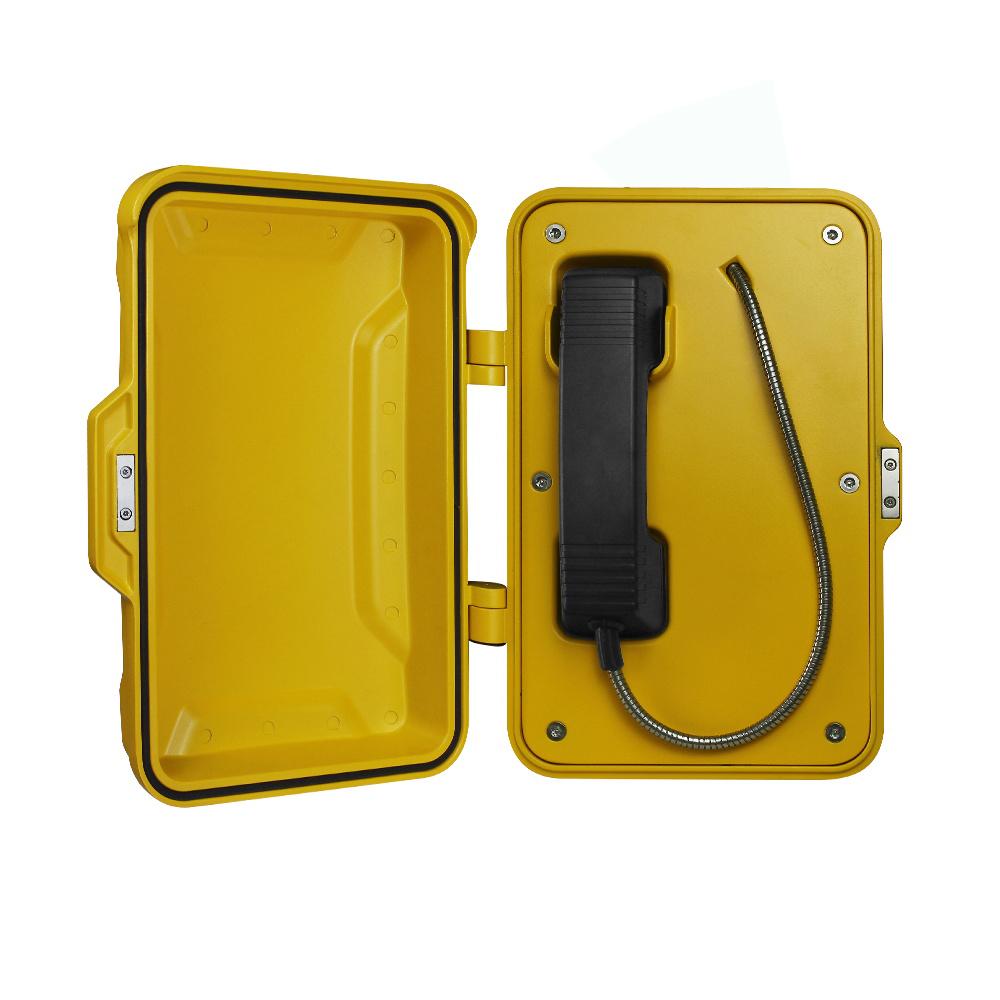 摘机直通消防电话  IP直通防水电话