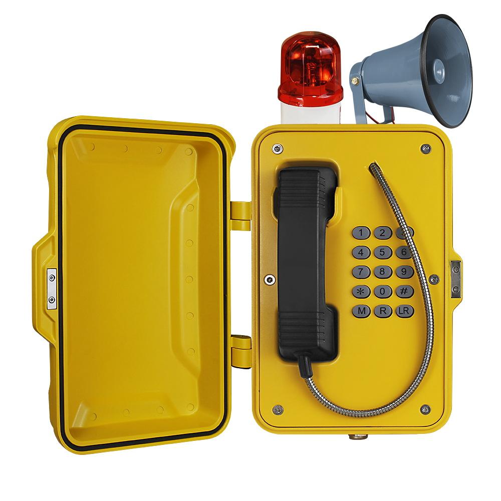 广东光纤型消防电话机 来电自动广播电话机