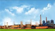 光网视打造黑龙江七台河化工厂建设