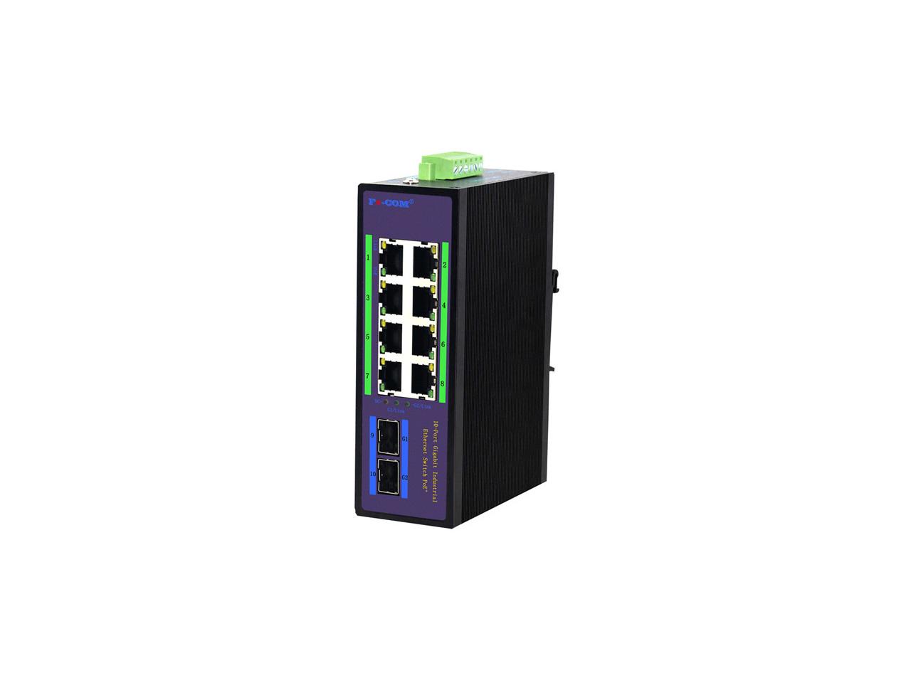 FHP-COM工业级千兆两光八电交换机