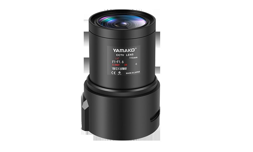 6-60mm高清手动变倍镜头 百万高清监控镜头