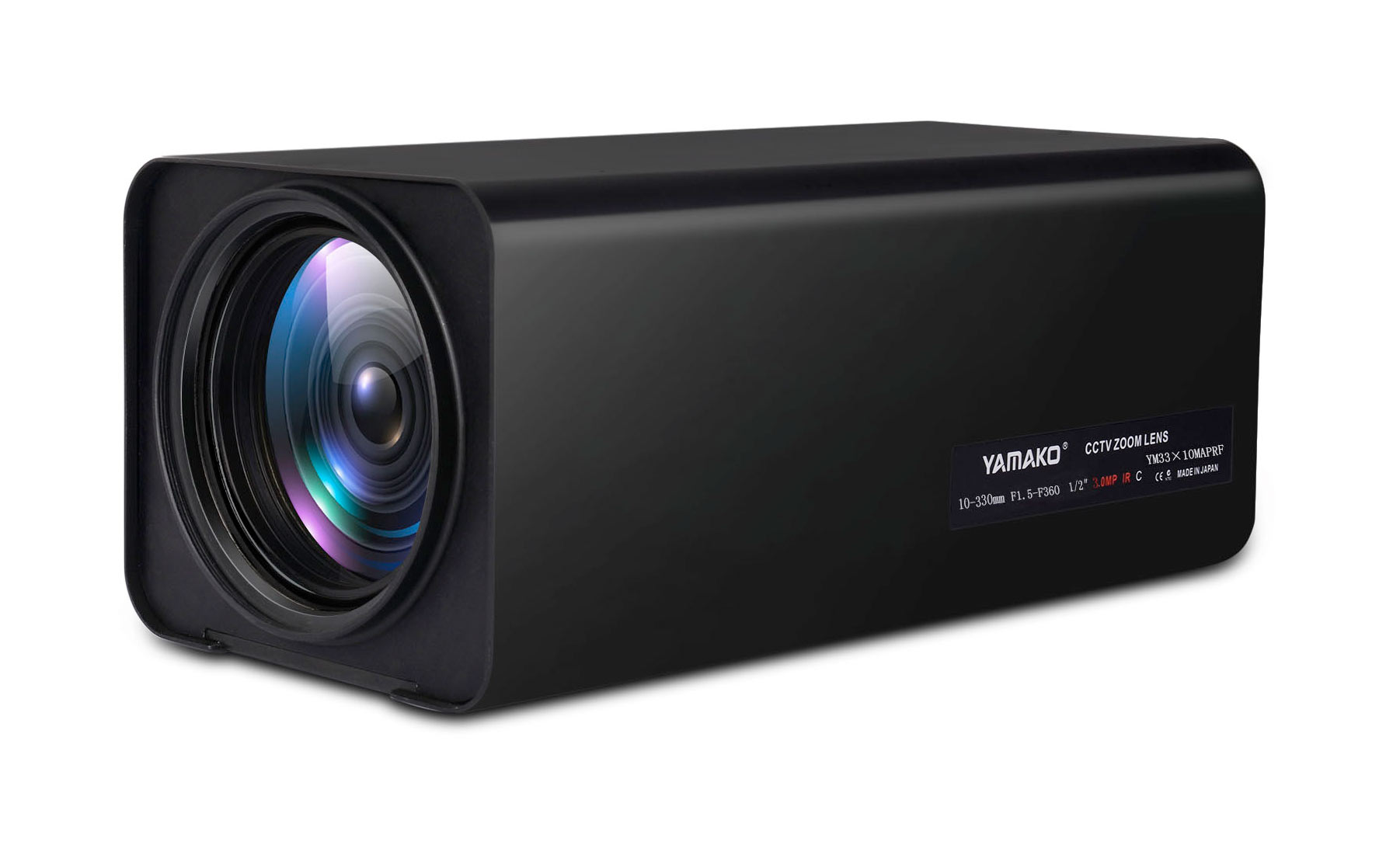 12.5-775mm电动变倍镜头 YAMAKO百万像素高清镜头