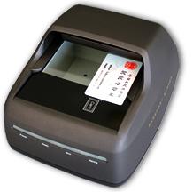 快证通CR880二合一身份证读卡证件扫描仪
