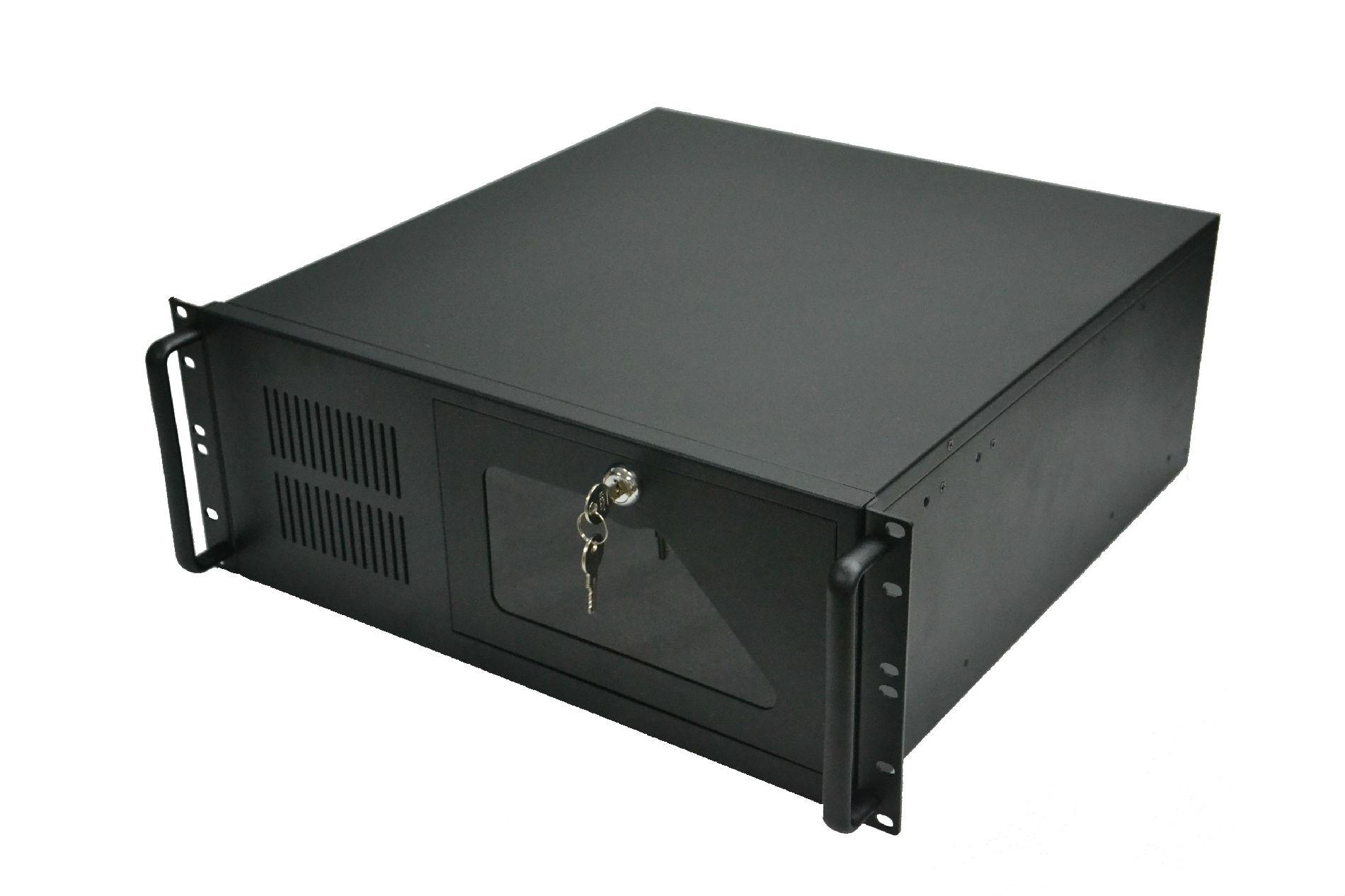 鼎翔工控4U机箱4U监控硬盘录像机箱服务器机箱