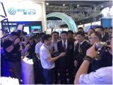 中国电信集团董事长杨杰莅临高新兴展位